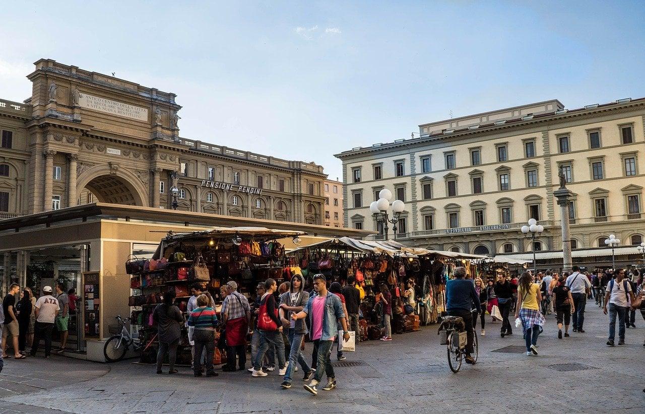 שוק בפירנצה