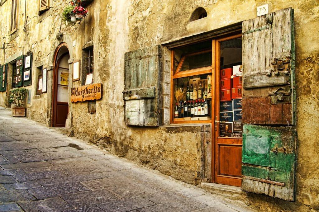 רחוב בטוסקנה