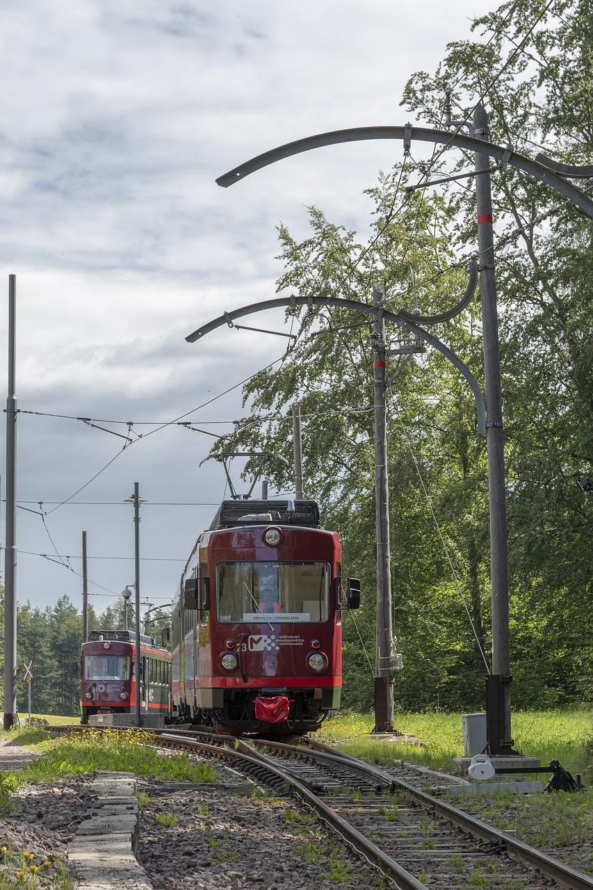 קו הרכבת העתיק של מישור רנון