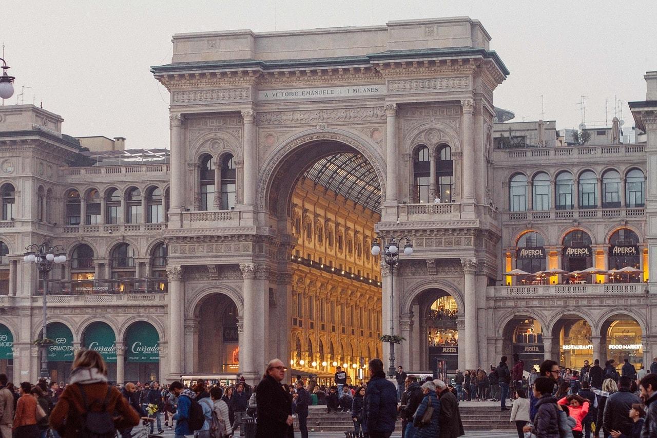 גלרייה ויטוריו עימנואלה השני במילאנו