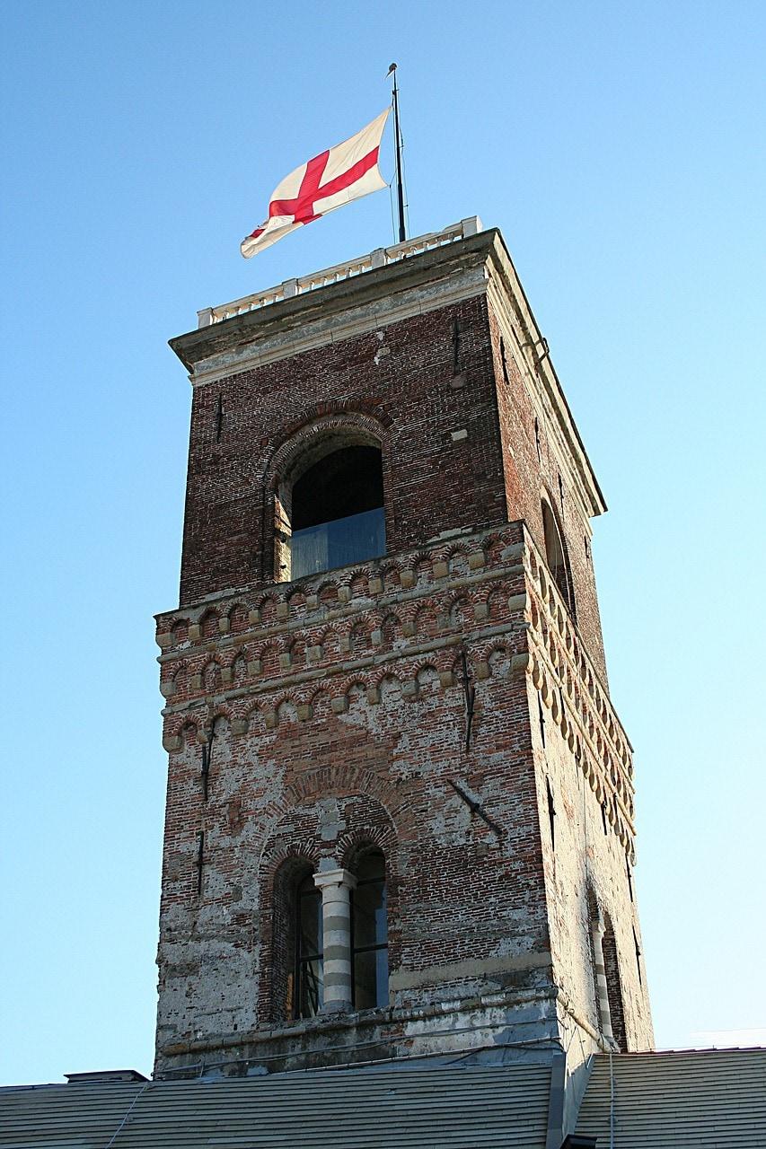 הדגל על ארמון הדוג'ה